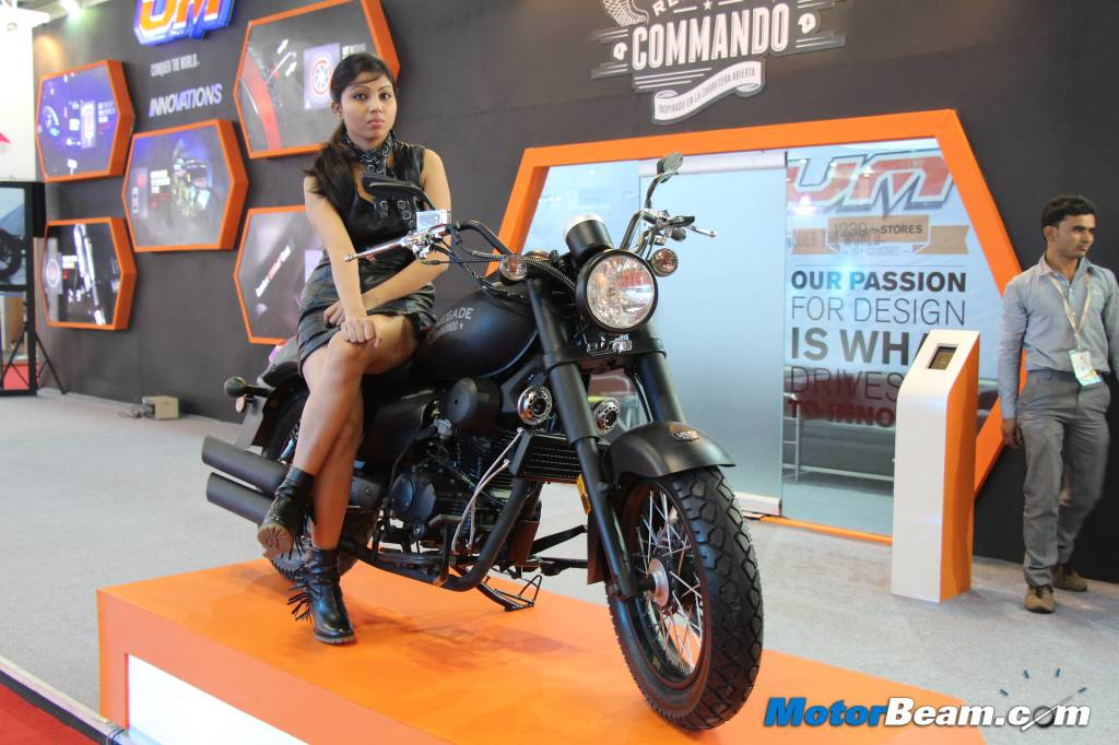 UM Motorcycles Renegade Commando Auto Expo