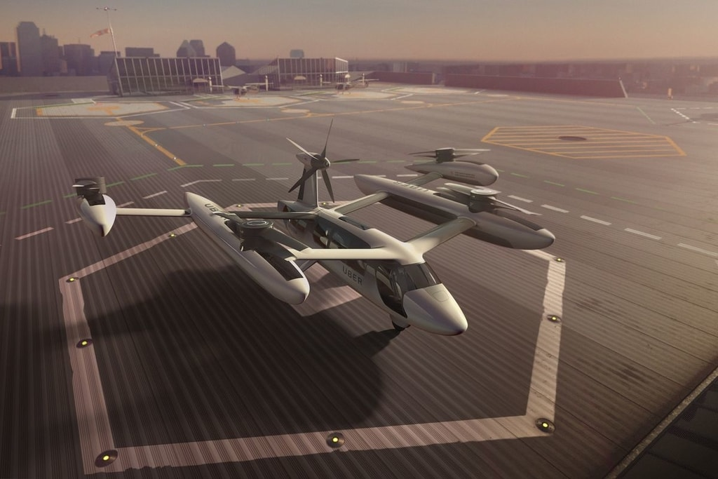 Uber Flying Taxis