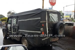 Upcoming Force Motors UV Spied