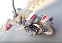 Upcoming RE Twin-Cylinder Bike Spotted In India
