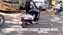 Upcoming Yamaha Scooter Spied In Chennai