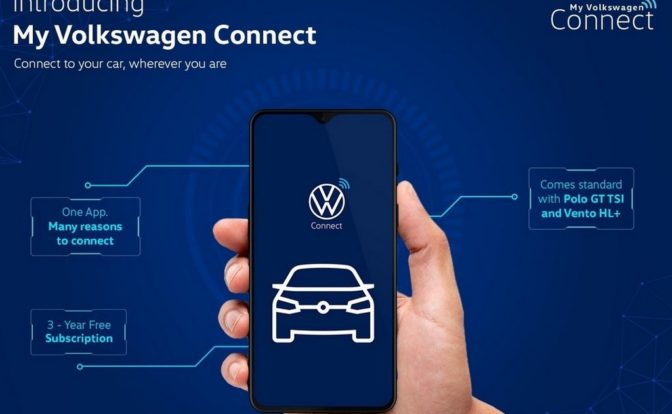 VW Connected Car Tech My Volkswagen Connect