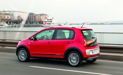 VW Cross Up! side