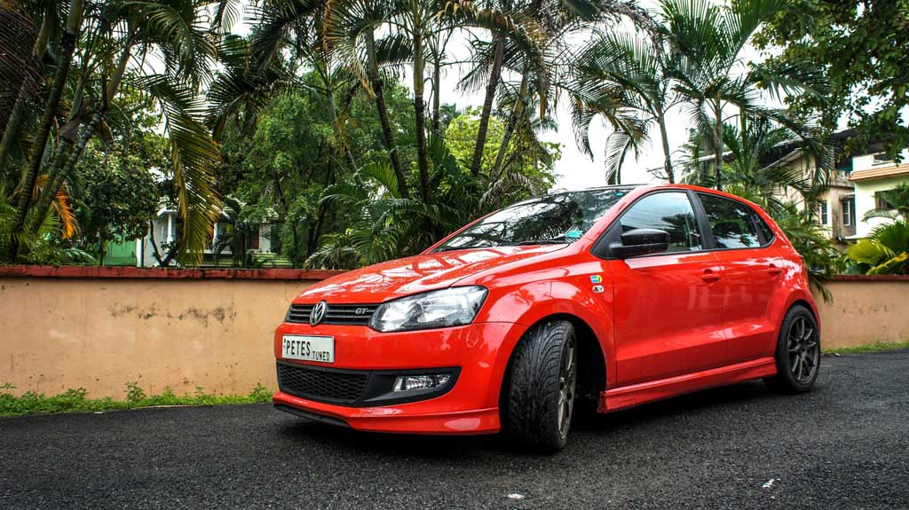 Pete S Volkswagen Polo Gt Tsi Gets Paddle Shifts