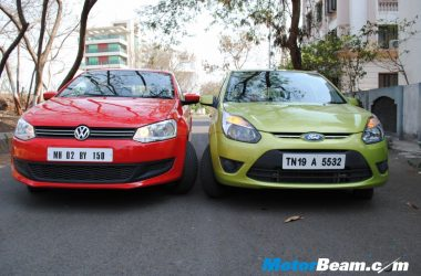 VW Polo vs Ford Figo