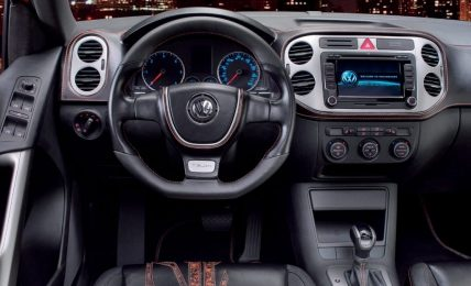 VW Tiguan interiors