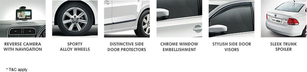 VW Vento Preferred Edition Features