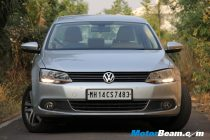VW Jetta - Front View