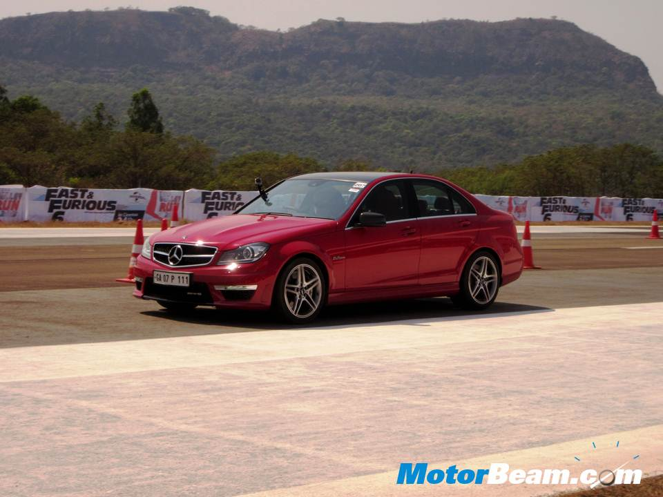 Valley Run Mercedes C63 AMG track