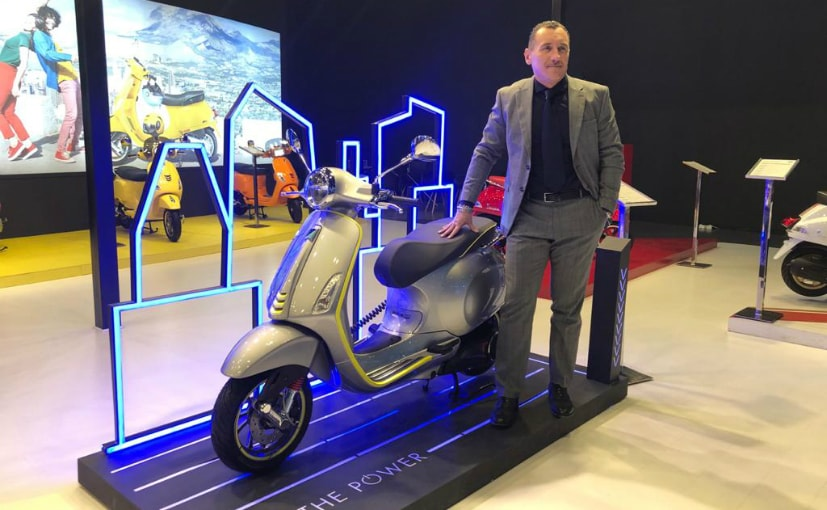 Vespa Electric Scooter India