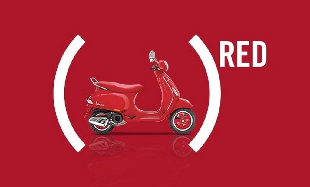 Vespa RED Side Profile