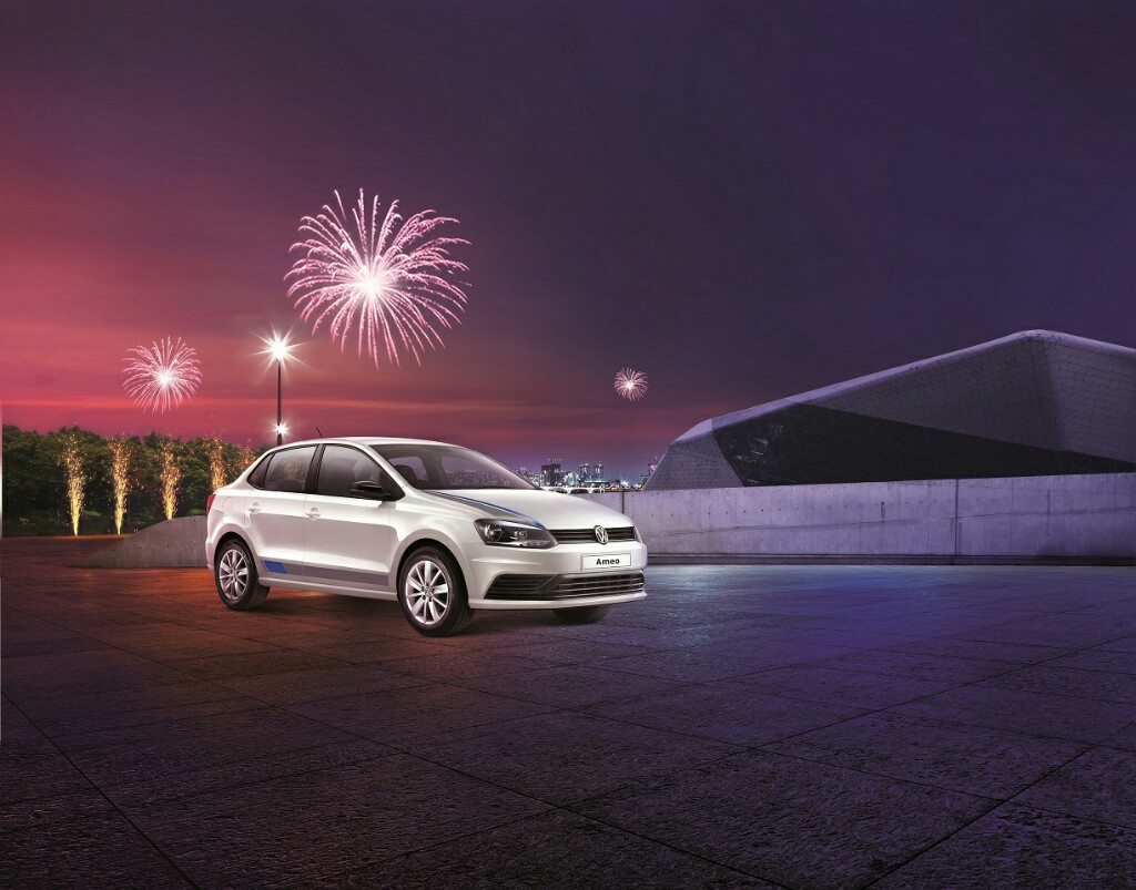 Volkswagen Ameo Anniversary Edition Launched