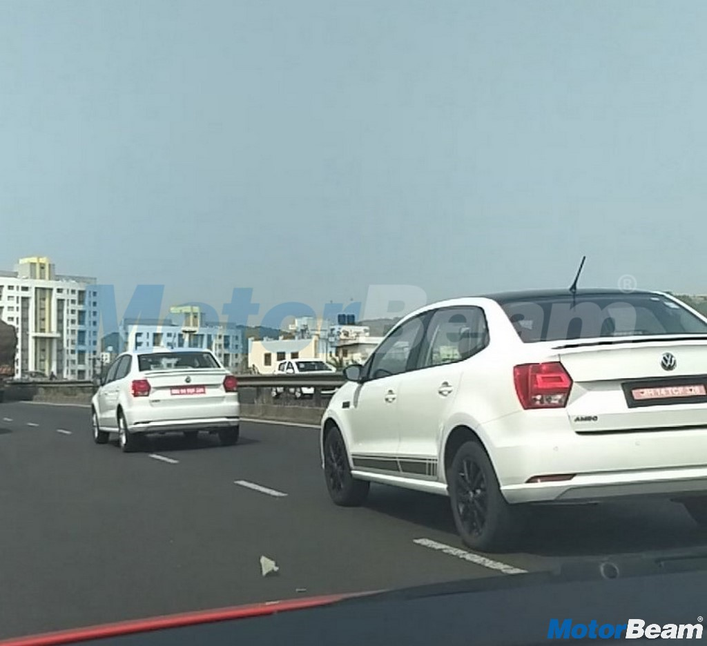 Volkswagen Ameo Rear Spotted