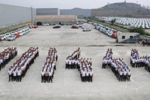 Volkswagen Chakan Plant 2014 Production