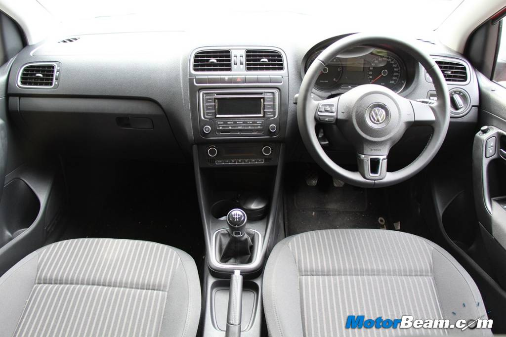 Volkswagen Cross Polo Dashboard
