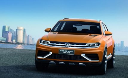 Volkswagen CrossBlue Coupe Concept Front