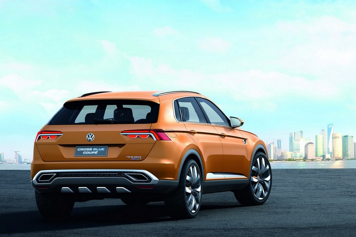 Volkswagen CrossBlue Coupe Concept Rear