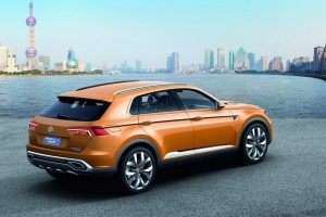 Volkswagen CrossBlue Coupe Concept Side