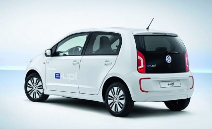 Volkswagen E-Up! side
