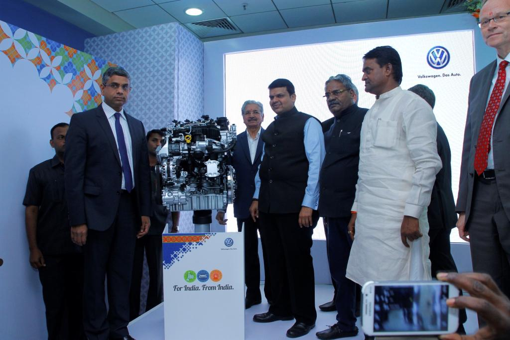 Volkswagen Engine Assembly Plant Inaugration
