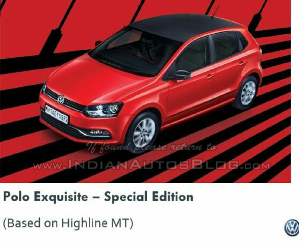 Volkswagen Polo Exquisite Edition