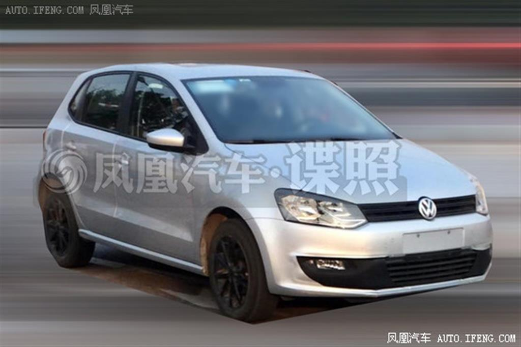 Volkswagen Polo Facelift 2014 Front