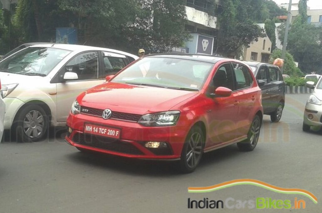 Volkswagen Polo GTI Testing India