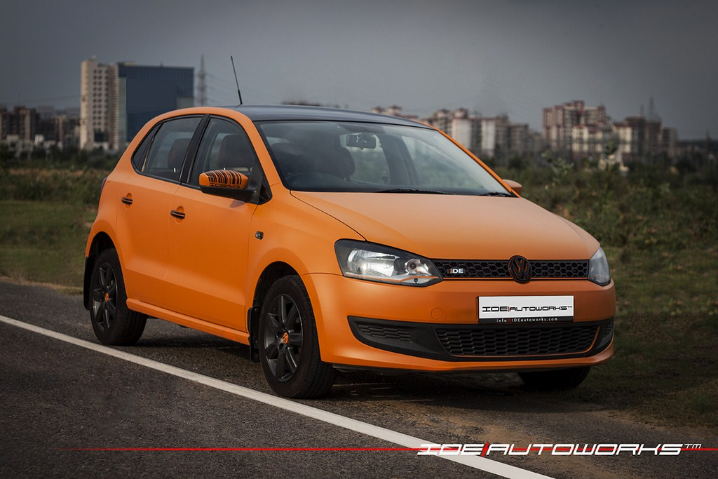 Volkswagen Polo Matte Orange