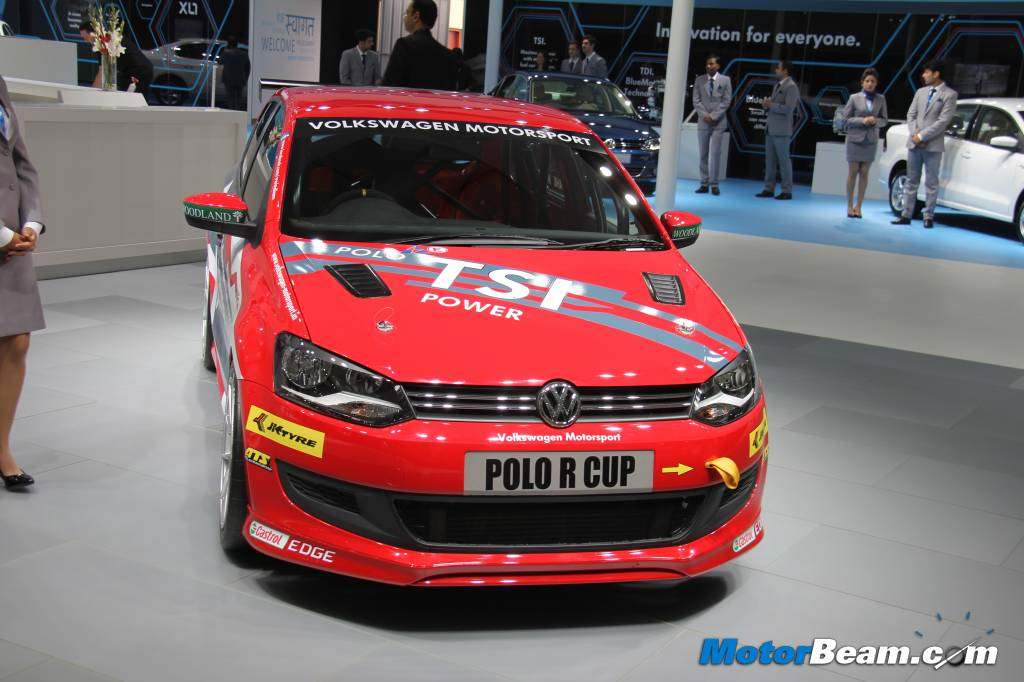 Volkswagen Polo R Cup Front