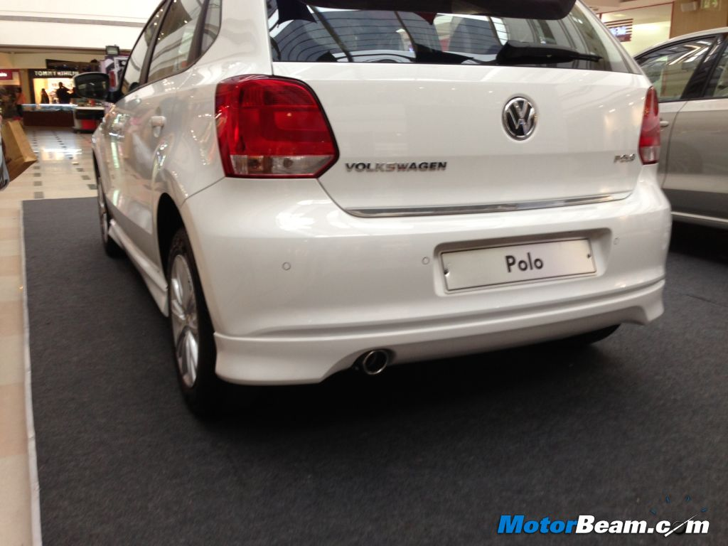 Volkswagen Polo SR exhaust