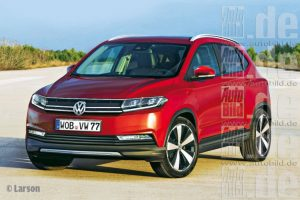 Volkswagen Polo SUV Front