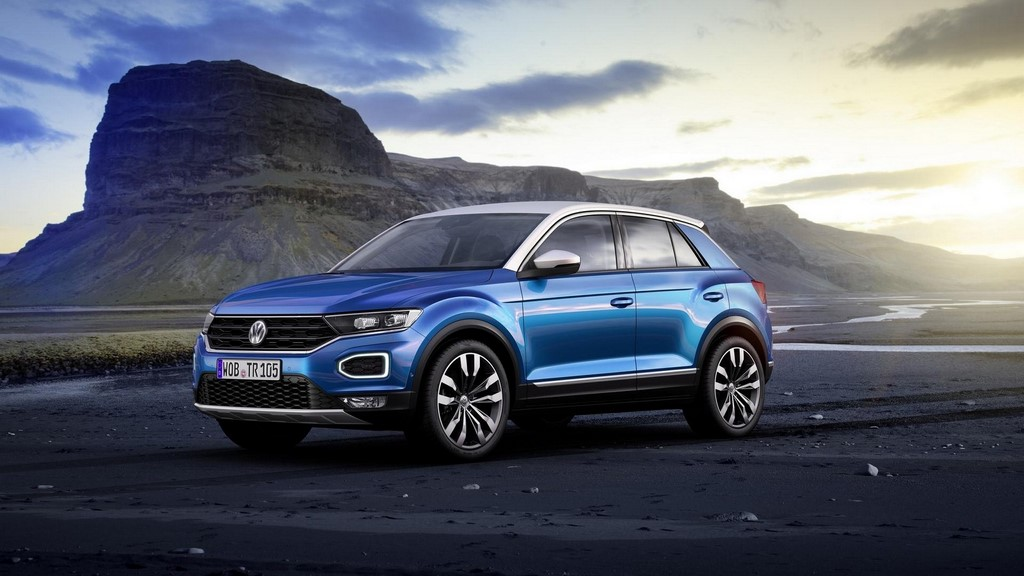 Volkswagen T-Roc Front Three-Quarter View