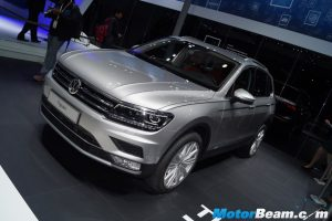 2017 Volkswagen Tiguan Launched, Priced From Rs. 27.98 Lakhs