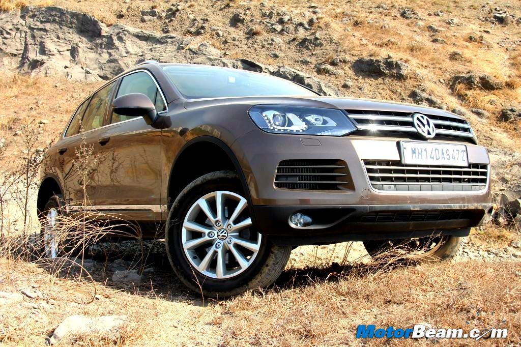 2013 Volkswagen Touareg Test Drive Review