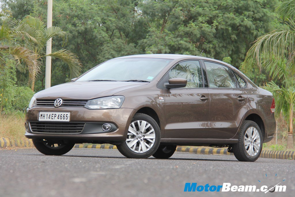 Volkswagen Testing Updated Vento In Lhd Guise