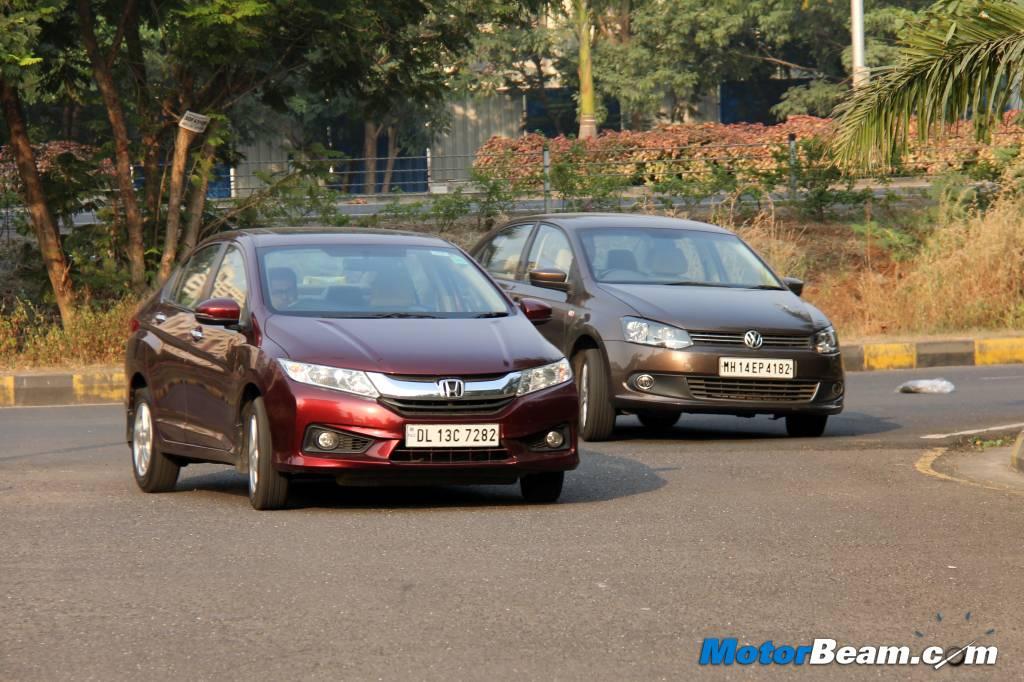 Volkswagen Vento vs Honda City