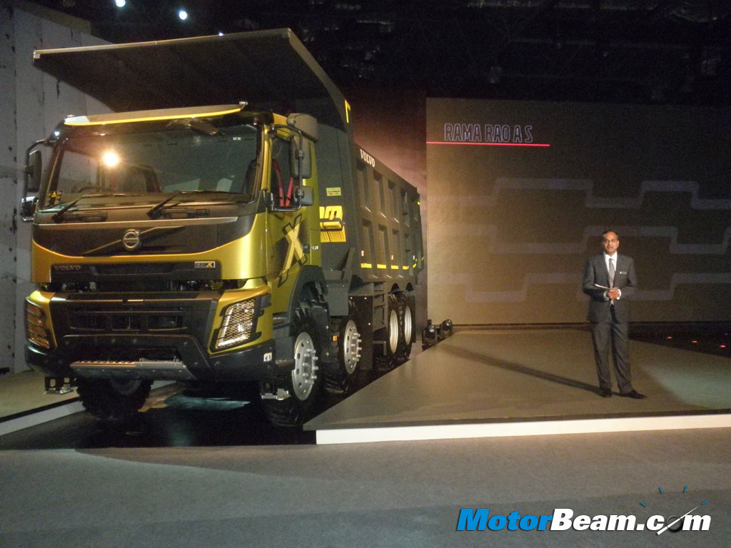 Volvo FMX Truck Launch India