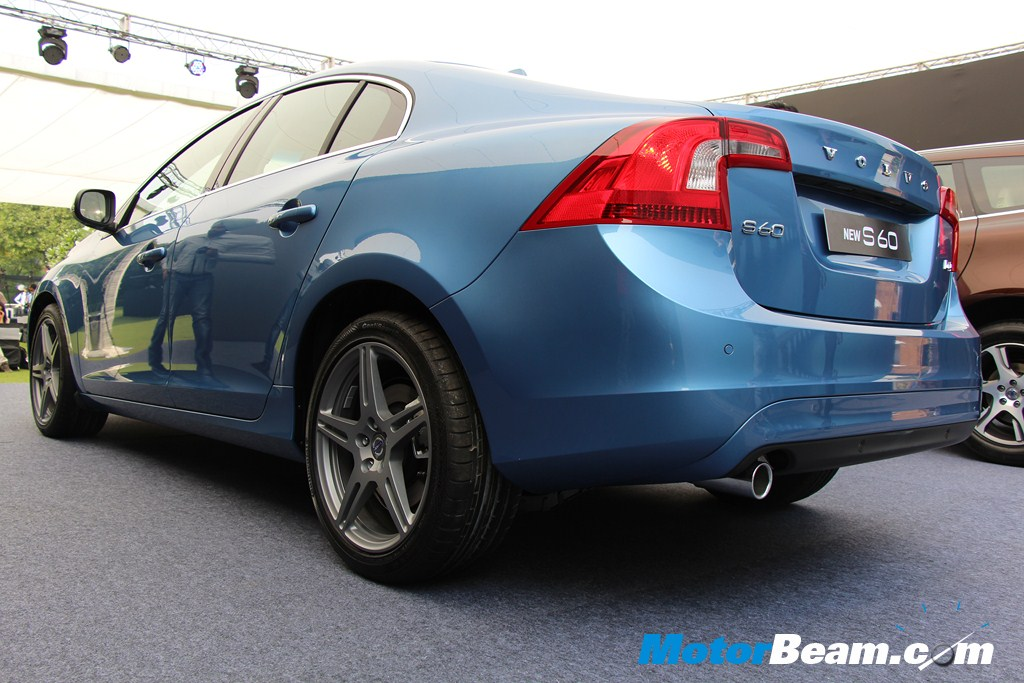 Volvo S60 Rear Profile