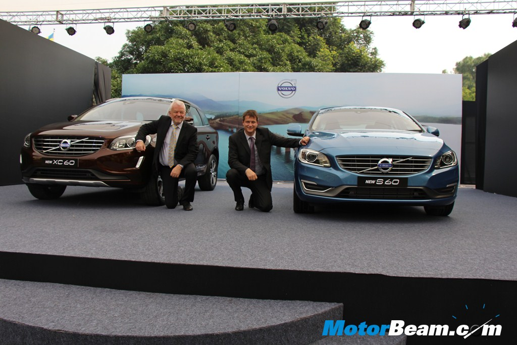 Volvo S60 XC60 Launch