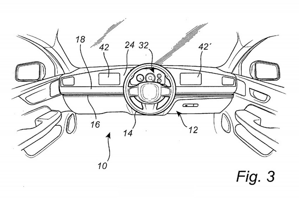Volvo Slideable Steering Wheel And Console