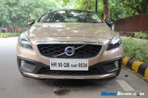 Volvo V40 Cross Country Test Drive Front