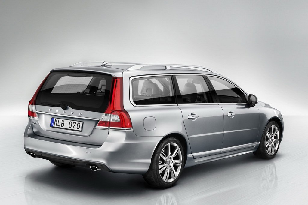 Volvo V70 facelift rear