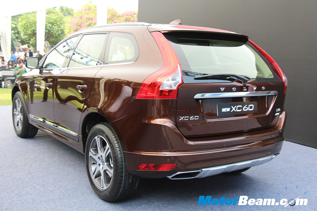 Volvo XC60 Rear Profile