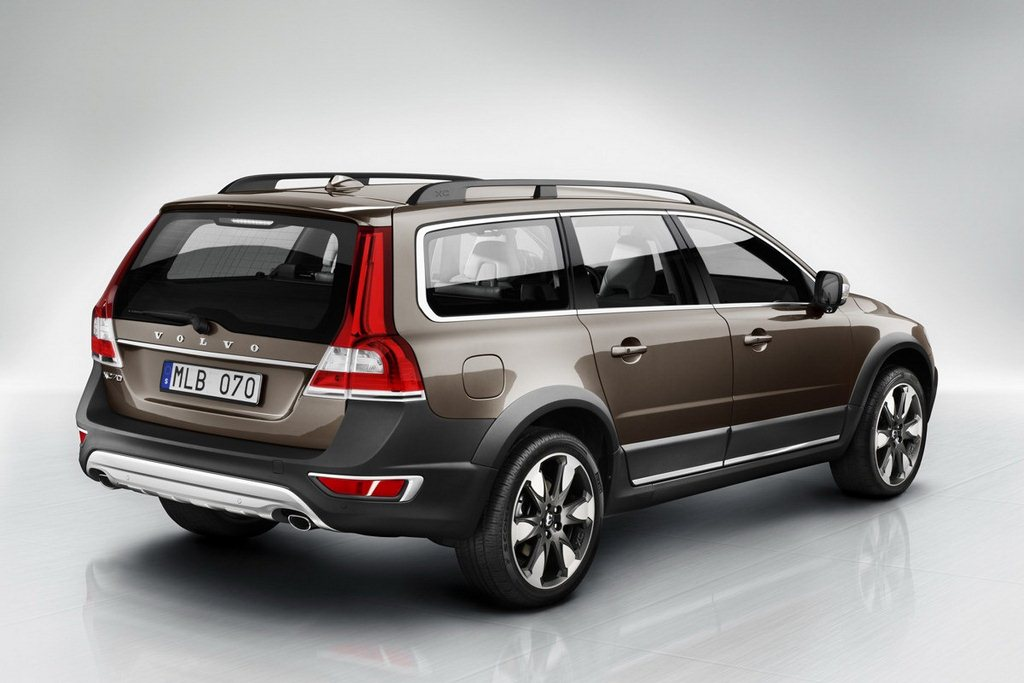 Volvo XC70 facelift rear