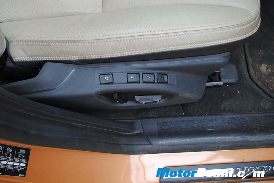 Volvo S60 Front Memory Seats