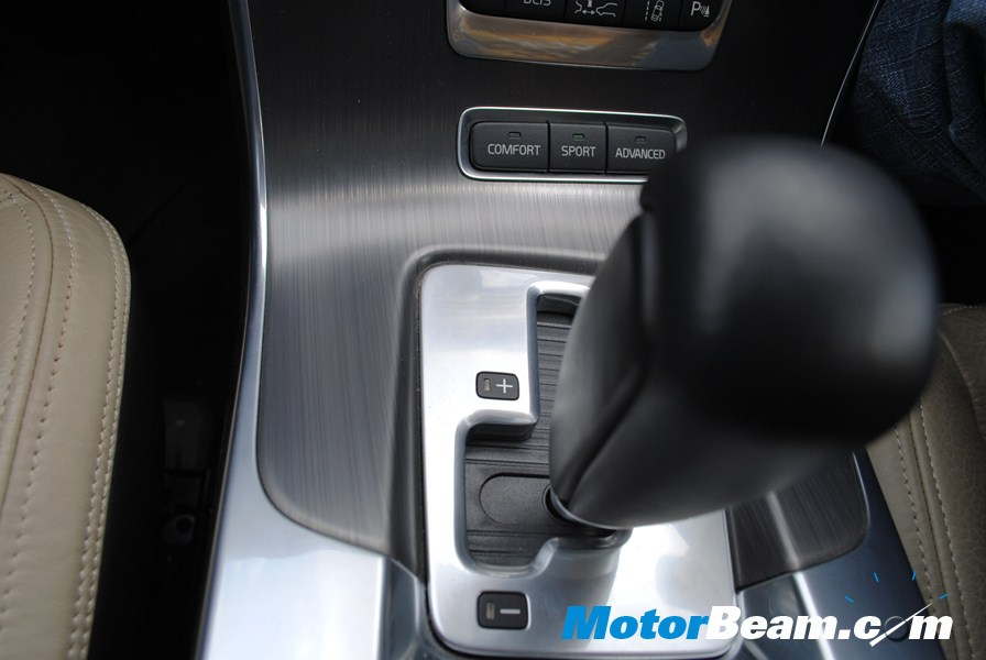 Volvo S60 - Driving modes