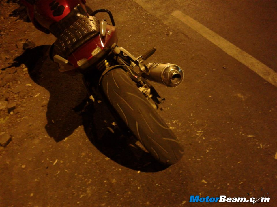 Widest Tyres On Pulsar 220