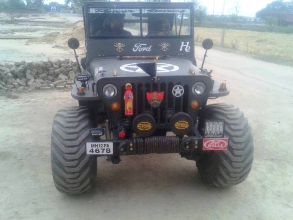 Willy's Jeep 6x6 Front