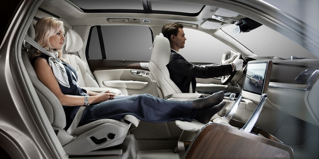 Volvo XC90 Excellence Lounge Interior Layout