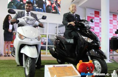 Yamaha Launches Alpha Scooter At Auto Expo [Live]